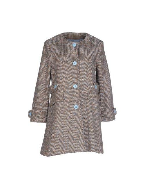 Angela Mele Milano | Мужское Коричневое Пальто