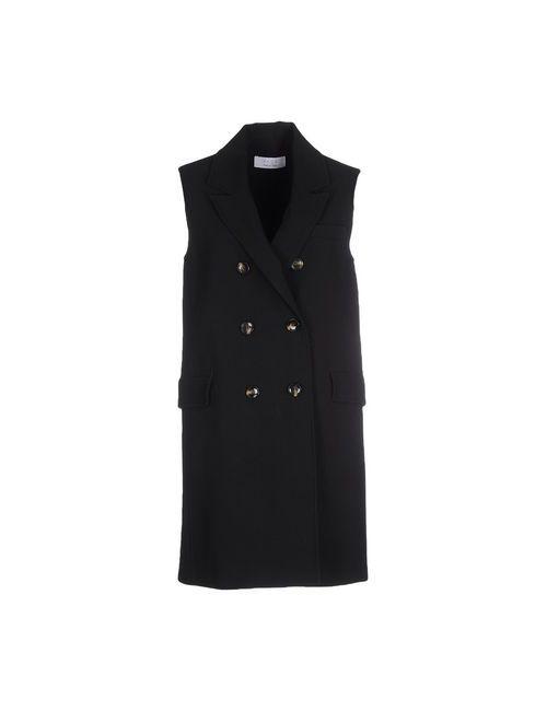 Kaos | Мужское Чёрное Пальто