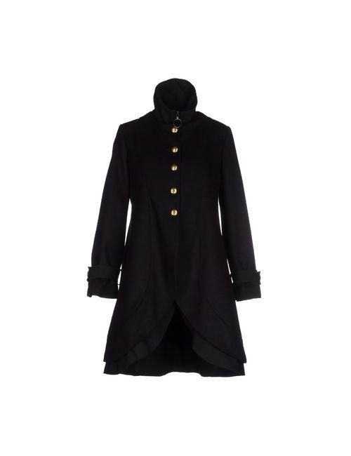 Angela Mele Milano | Мужское Чёрное Пальто