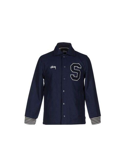 Stussy   Мужская Синяя Куртка