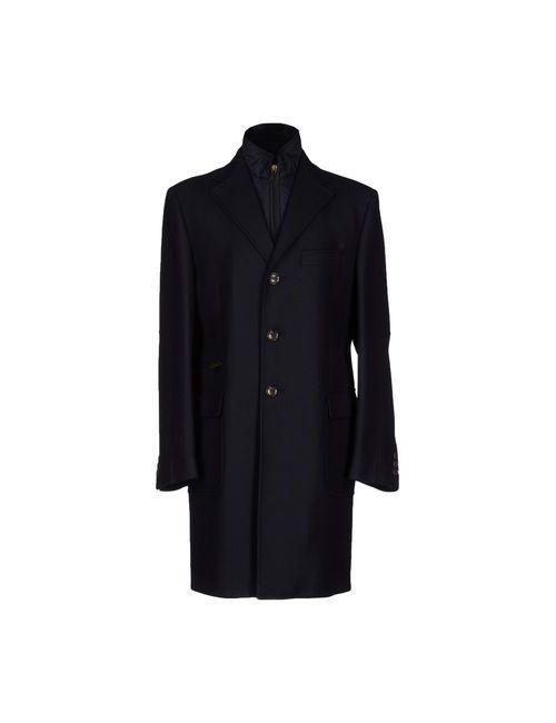 Luigi Bianchi Mantova | Мужское Синее Пальто