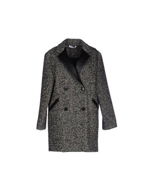 Gat Rimon | Мужское Чёрное Пальто