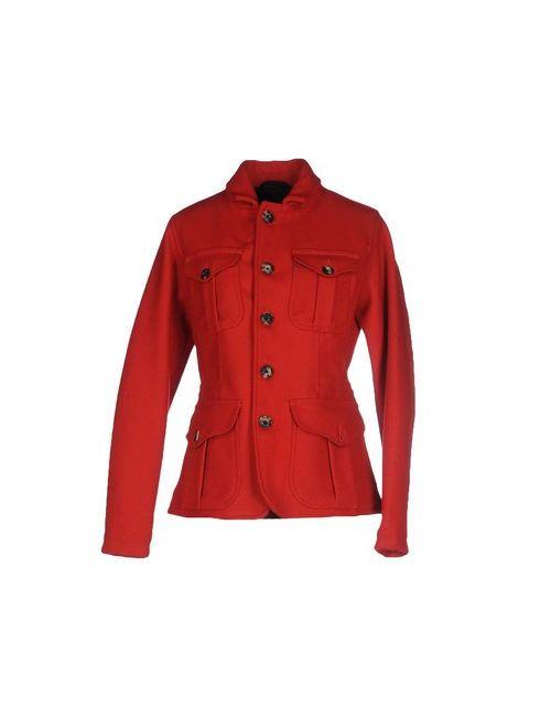 Filson Garment | Мужское Красное Пальто