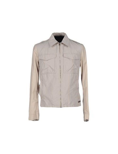 313 Tre Uno Tre | Мужская Бежевая Куртка