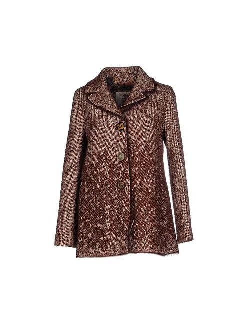 Maliparmi | Мужское Коричневое Пальто