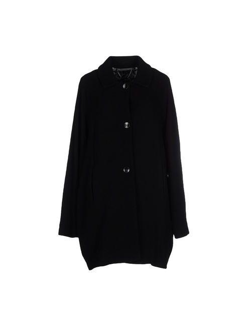 REBEL QUEEN | Мужское Чёрное Легкое Пальто