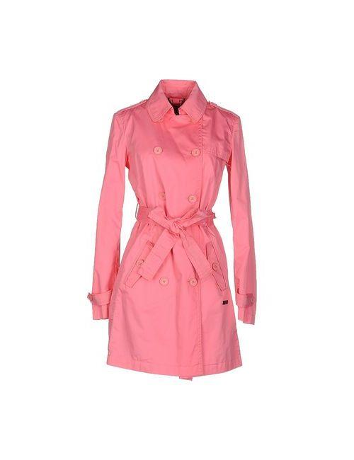 313 Tre Uno Tre   Мужское Фиолетовое Легкое Пальто