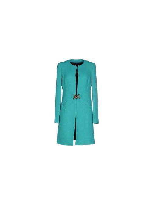 Class Roberto Cavalli | Мужское Зелёное Пальто