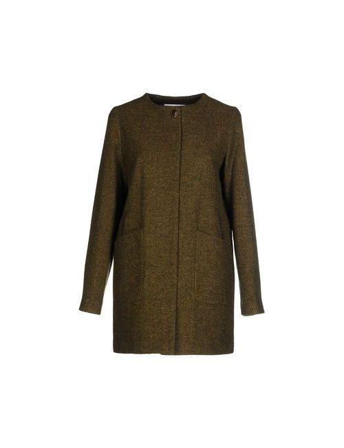 Elvine | Мужское Зелёное Пальто