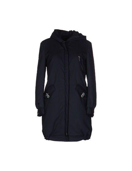 Anna Rachele Jeans Collection   Мужское Синее Пальто