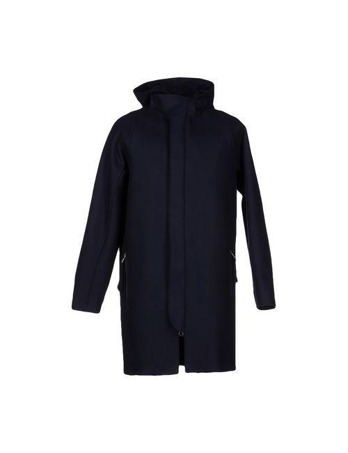 Brian Dales | Мужское Синее Пальто