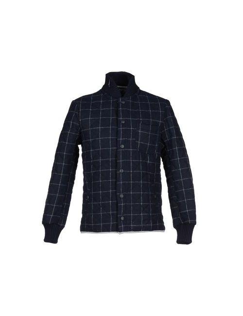 Macchia J | Мужская Синяя Куртка