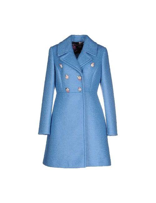Vdp Collection | Мужское Голубое Пальто