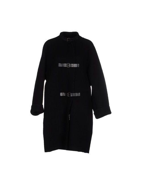 Lanvin | Мужское Чёрное Пальто