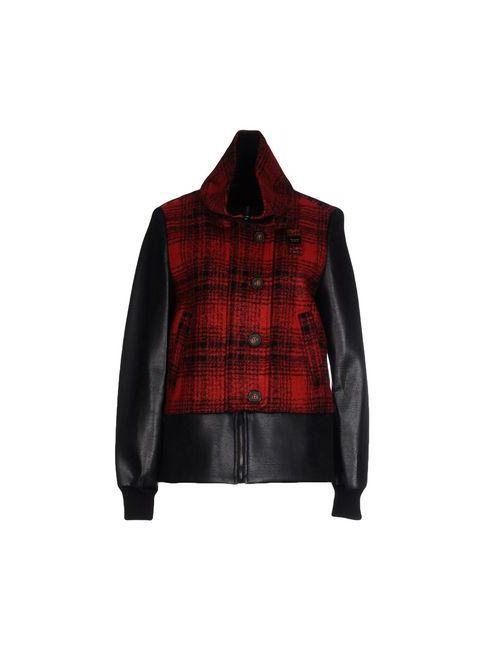 Blauer   Мужская Красная Куртка