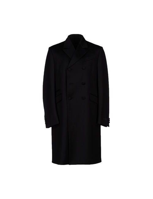 Prada | Мужское Чёрное Пальто