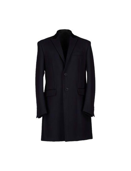 Versace Collection | Мужское Синее Пальто