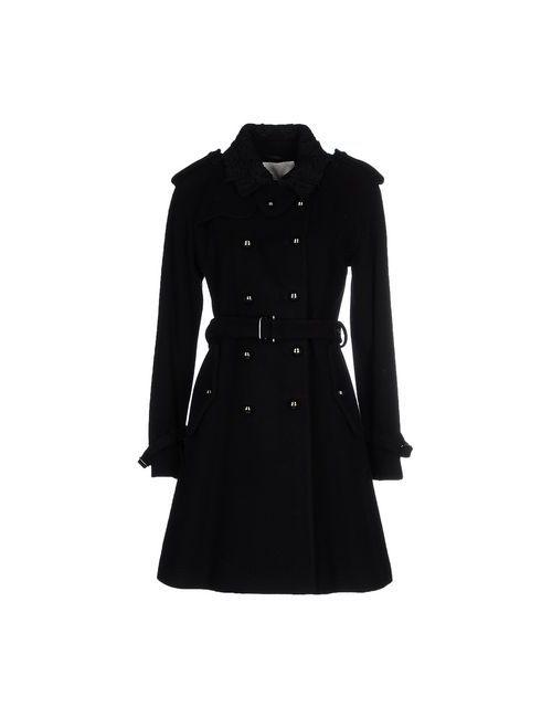 Scervino Street   Мужское Чёрное Пальто