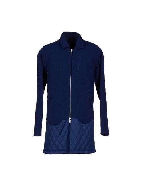adidas Originals | Мужское Синее Легкое Пальто