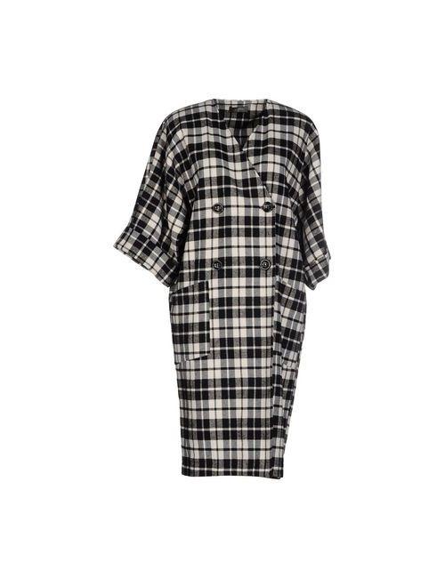SOALLURE | Мужское Черный Легкое Пальто