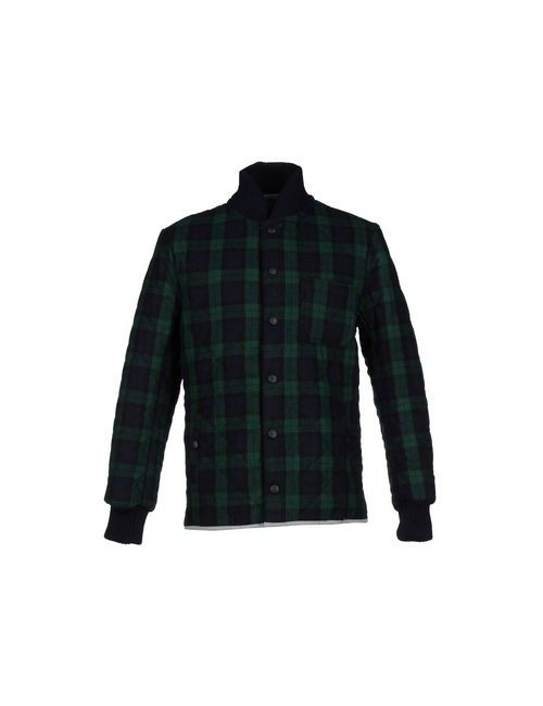 Macchia J | Мужская Зелёная Куртка