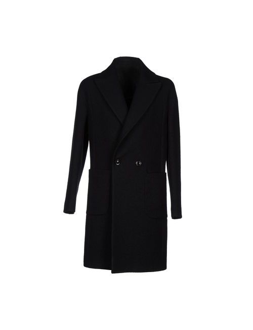 Futuro | Мужское Чёрное Пальто