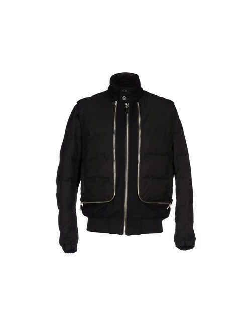 Bikkembergs | Мужская Чёрная Куртка