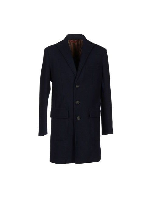 Liu •Jo Jeans | Мужское Синее Пальто