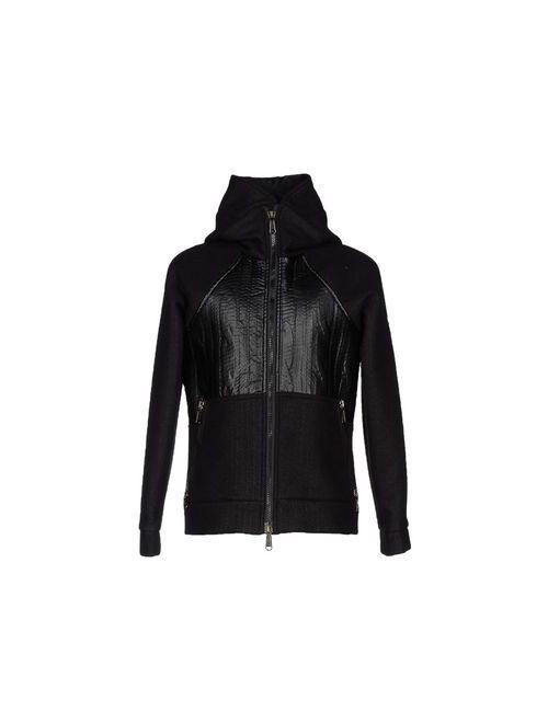 Alessandro Dell'Acqua | Мужская Чёрная Куртка