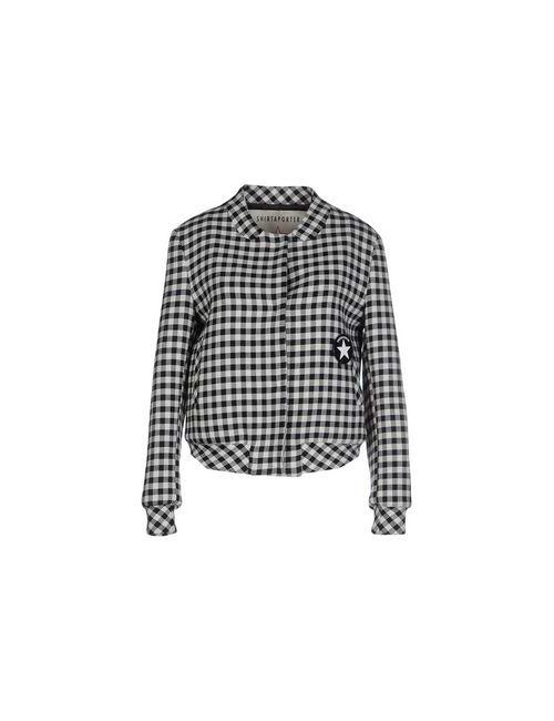 Shirtaporter   Мужская Черный Куртка