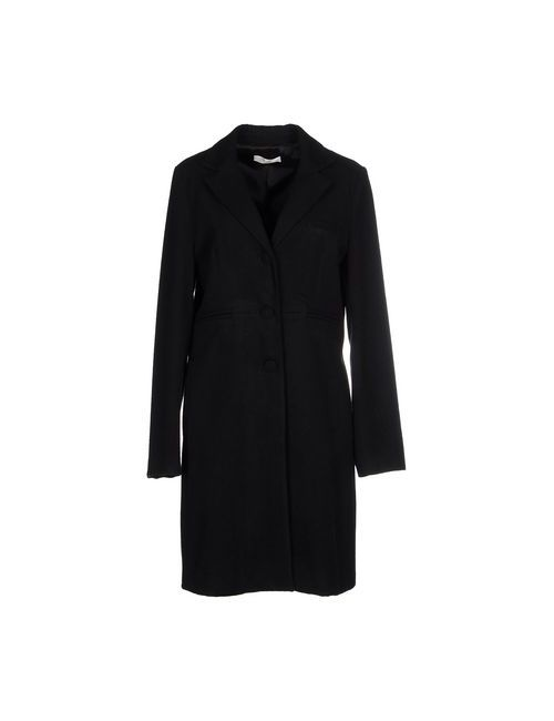 Suoli | Мужское Чёрное Пальто