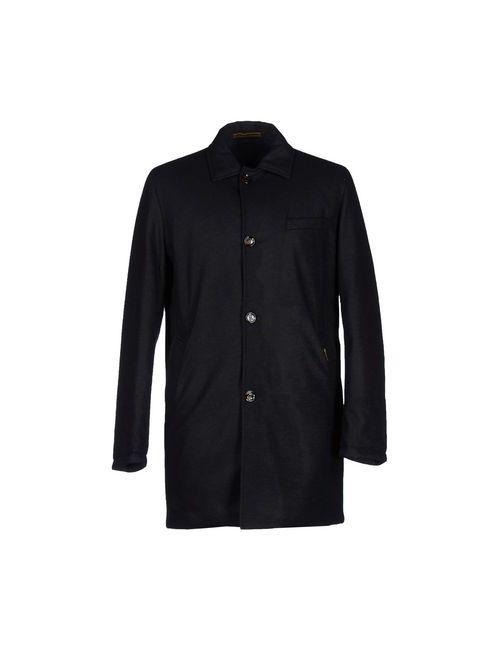 Moorer | Мужское Синее Пальто