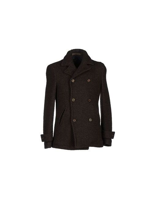 Eleventy | Мужское Коричневое Пальто