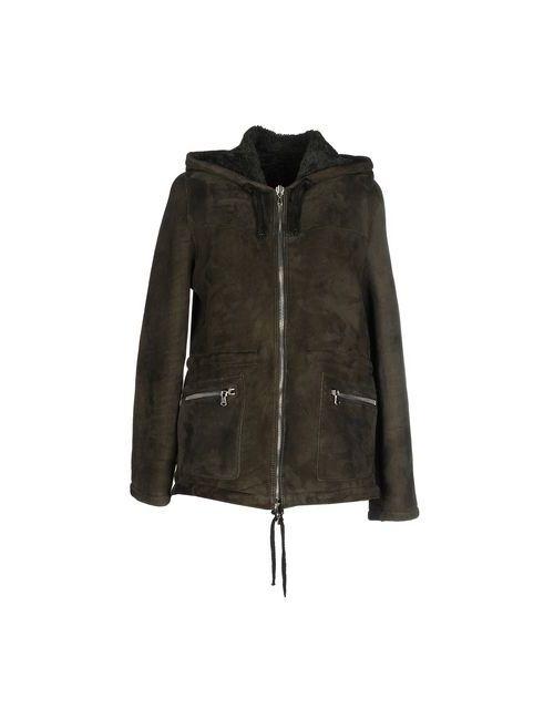 UNFLEUR | Мужское Зелёное Пальто