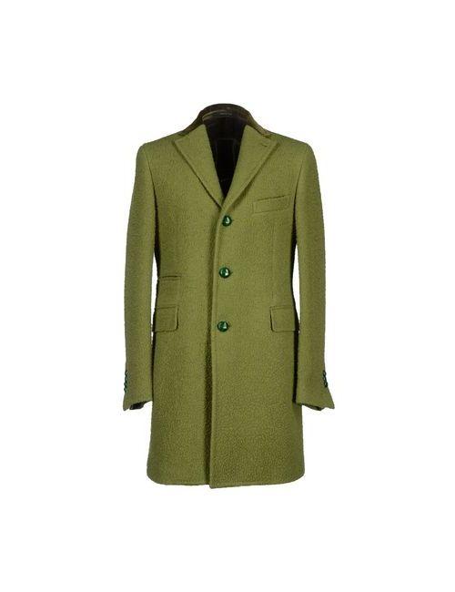 Tagliatore | Мужское Зелёное Пальто