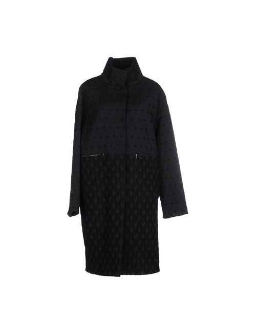 Les Copains | Мужское Черный Пальто