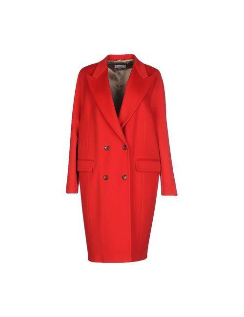 Alberto Biani | Мужское Красное Легкое Пальто