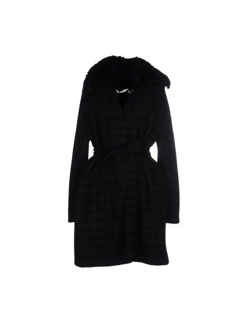 Agnona   Мужское Чёрное Пальто