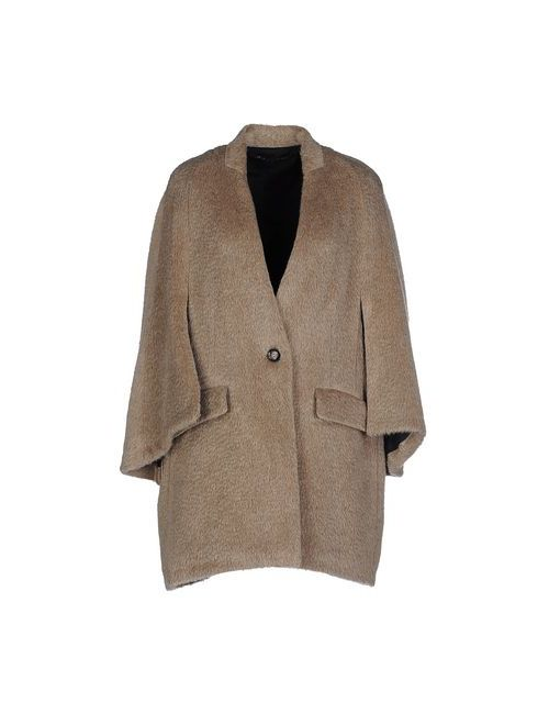 Malloni | Мужское Серое Пальто