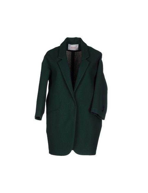 Jucca | Мужское Зелёное Пальто