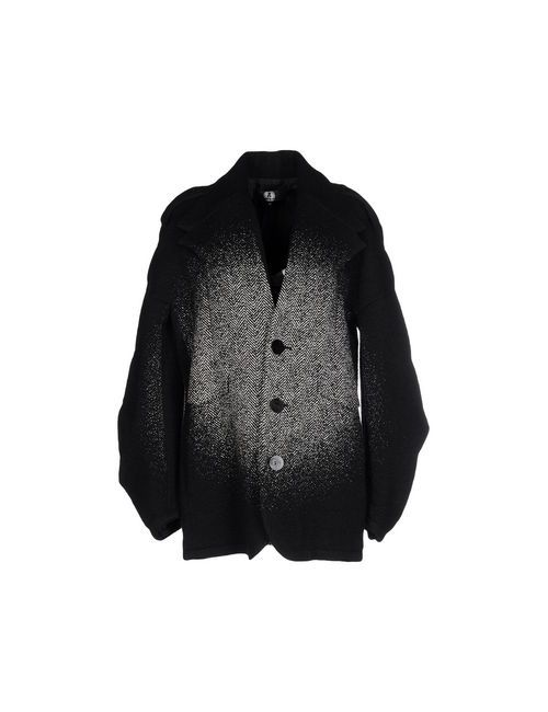 ANREALAGE   Мужское Чёрное Пальто