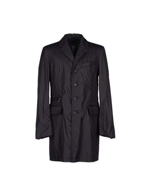 Add   Мужское Чёрное Пальто