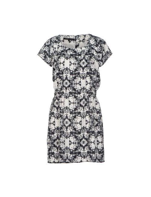 Minimum | Женское Белое Короткое Платье