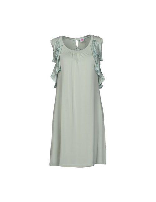Scee By Twin-Set | Женское Зелёное Короткое Платье