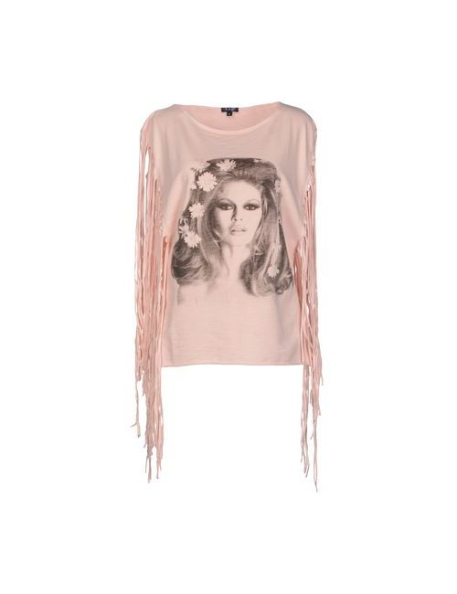Brigitte Bardot | Женская Розовая Толстовка