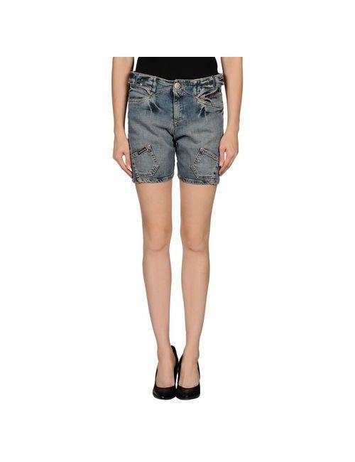 Calvin Klein Jeans | Женские Синие Джинсовые Бермуды