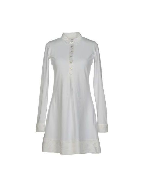 Alpha Massimo Rebecchi   Женское Белое Короткое Платье