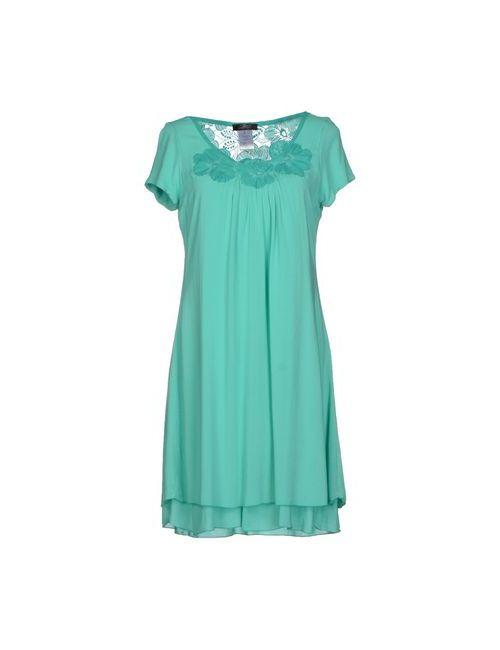 Jei O' | Женское Зелёное Короткое Платье