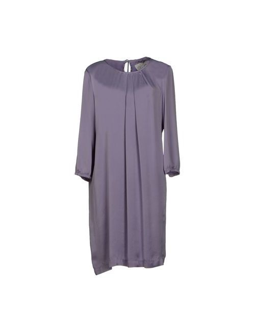 L' Autre Chose | Женское Фиолетовое Короткое Платье