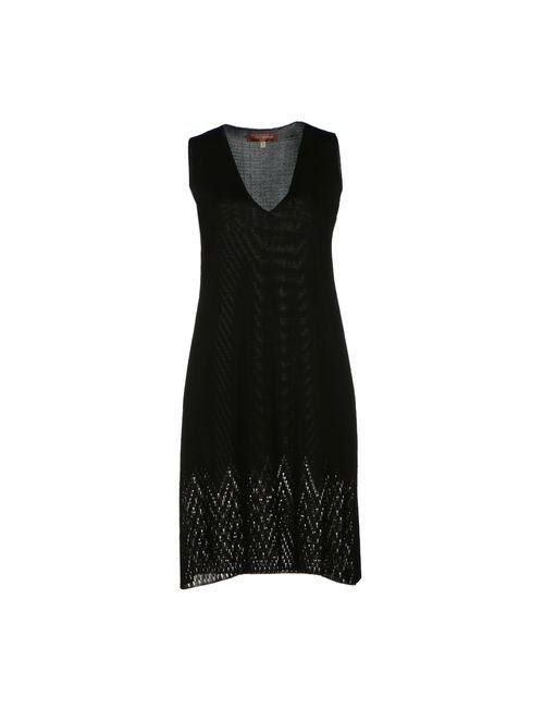 L' Autre Chose | Женское Черный Короткое Платье